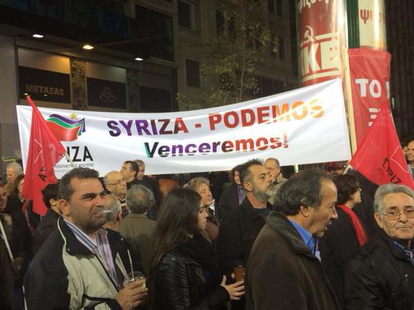 Syriza-Podemos-Mark-Lowen
