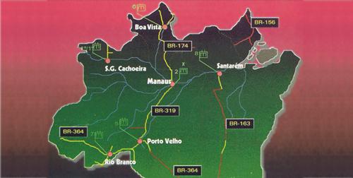Eixos da Amazônia Industrial (MSIa, 2006)