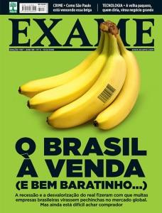 Brasil a venda Exame
